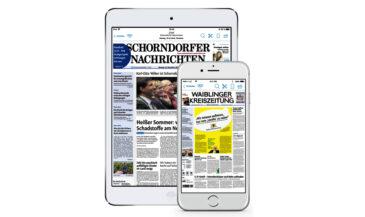Jahresabonnement der Digitalen Zeitung (7 von 10) – Zeitungsverlag Waiblingen